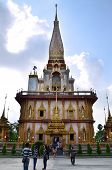 Phuket, Thailand - April 15, 2014 : Wat Chaitharam Or Wat Charong, Phuket , Thailand.