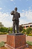 Statue Of Vladimir Lenin (1950) In Dmitrov, Russia