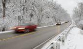 Winter commute