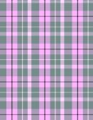 Pink Grey Plaid