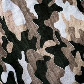 Old Thai Military camouflage fabric