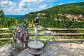 Primary Overlook At Cloudland Canyon State Park In Georgia