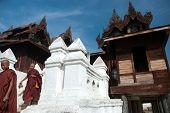 Nyan Shwe Kgua Temple in Myanmar.