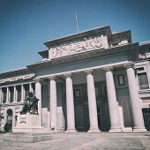 Famous Prado museum in Madrid, Spain.