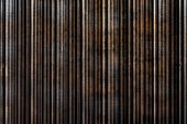 Blurred Background, Rusty Metal Sheet