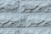 Rough Concrete Wall Of Silvery Color