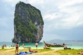 Group Tour In The Beach Of Krabi