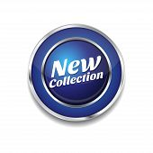 New Collection Glossy Shiny Circular Vector Button