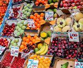 Fruit Stall On A London Street