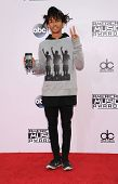 LOS ANGELES - NOV 23:  Jaden Smith arrives to the 2014 American Music Awards on November 23, 2014 in Los Angeles, CA