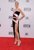 LOS ANGELES - NOV 23:  Heidi Klum arrives to the 2014 American Music Awards on November 23, 2014 in Los Angeles, CA