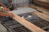 Wood Board Cutting