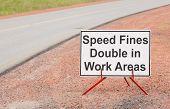 Speed Fine Sign