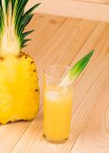 Delicious Pineapple with juice