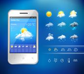 Mobile weather application