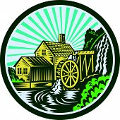 Watermill House Circle Retro