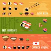 Asian Food Banners