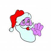 Santa Claus Color Vector