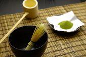 Japanese traditional tea set