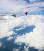 Wing over Lands Heavenly Scene