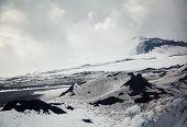 Melancholy Etna In Spring
