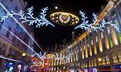 Regent Street Christmas Lights In London