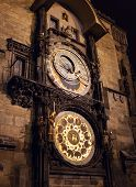 The Astronomical Clock. Prague. Czech Republic.