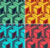 Vector 3D Vintage Background