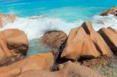 Magnificent Seychelles Rocky Beach