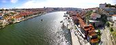 Panoramic View Of City Of Porto, Portugal