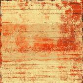 Grunge old-school texture, background for design. With different color patterns: orange; brown; yellow