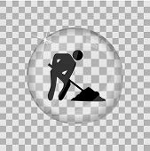 Construction Glass Vector Illustration