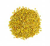 Macro Pile Of Organic, Natural Pollen From Bees, Bee Pollen