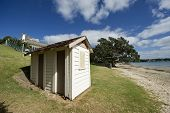 Cabin on Takapuna Beach New Zealand