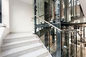 Interior Of Corporate Building