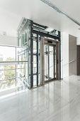 Interior Of Modern Corporate Building