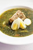 picture of sorrel  - sorrel soup - JPG