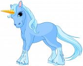 image of fairy tail  - Illustration of standing beautiful cute unicorn - JPG