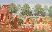 pic of mural  - Thai art - JPG