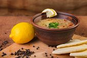 picture of vegetable soup  - Delicious soup - JPG