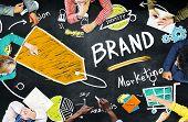 image of seminars  - Brand Branding Price Tag Marketing Trademark Concept - JPG