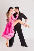 stock photo of dancing  - Ballroom dancing - JPG