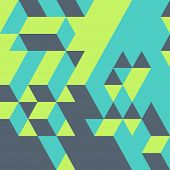 picture of wallpaper  - Abstract geometrical 3d background - JPG
