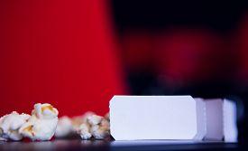picture of cinema auditorium  - Pop corn and cinema tickets at the cinema - JPG