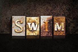 foto of swim meet  - The word  - JPG