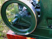 Vintage Engine Flywheel