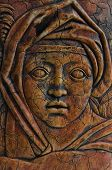 Ancient Medieval Woman Impression poster