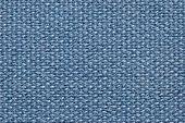 Blue Fabric Background