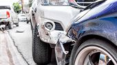 Car Crash From Car Accident On The Road poster