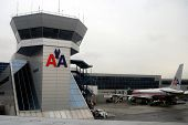 NEW YORK CITY - MARCH 19: American Airlines fight the slump in air traffic by lowering prices, inclu